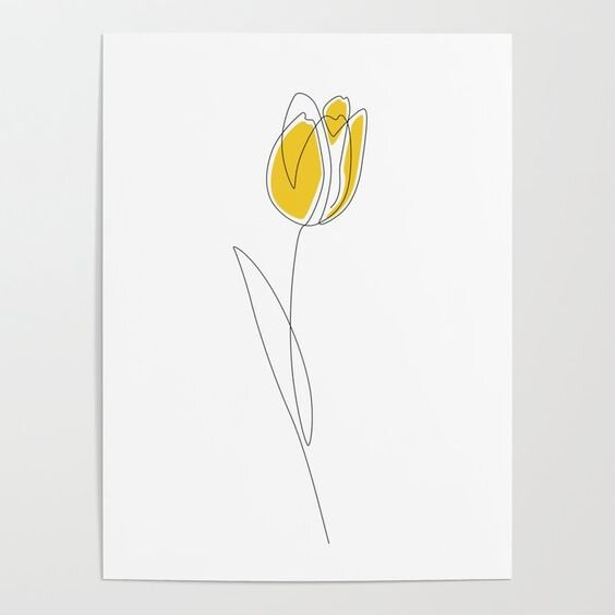 Yellow Tulip Line Art.jpg