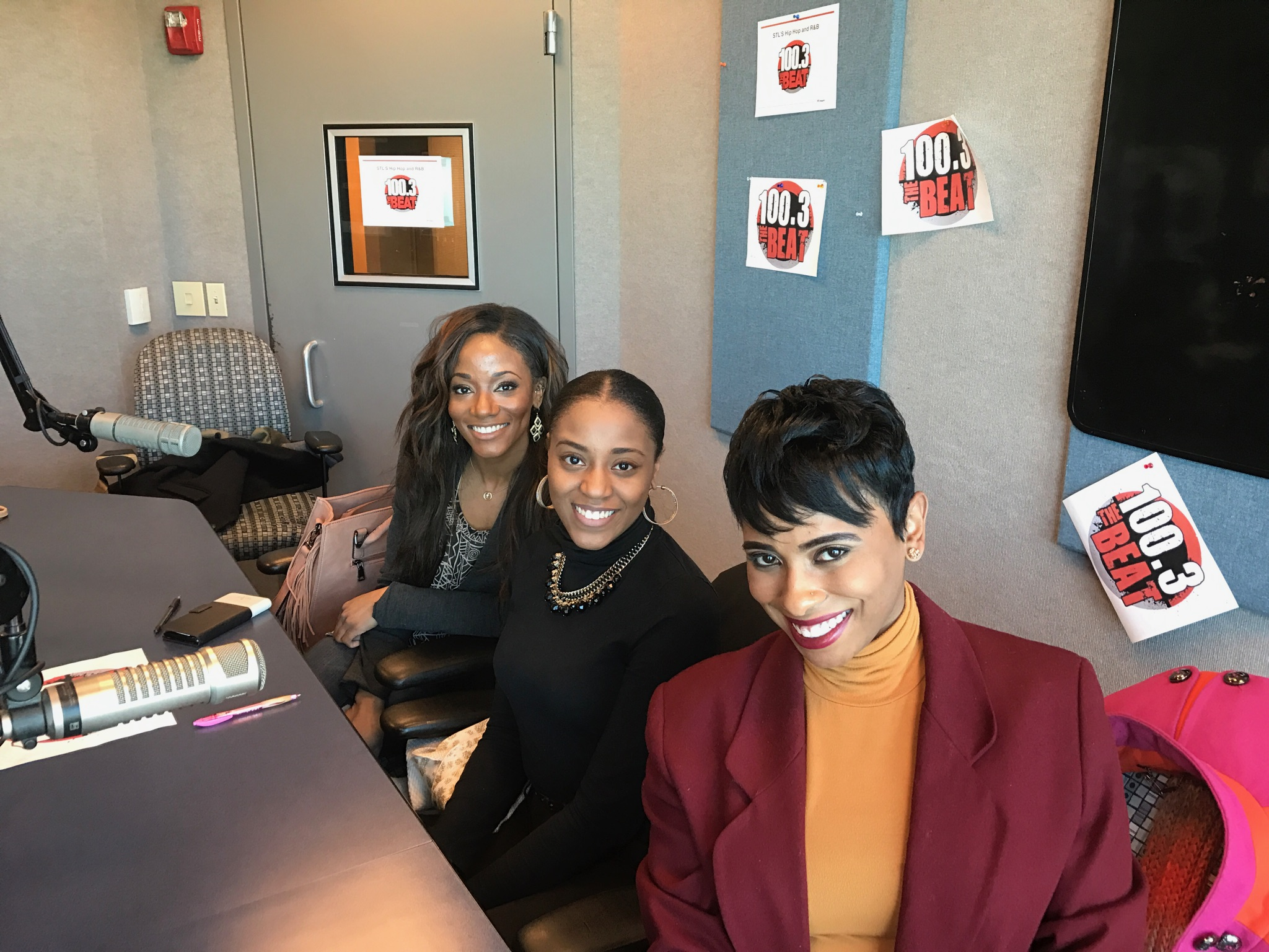 100.3 The Beat Interview, March 2017