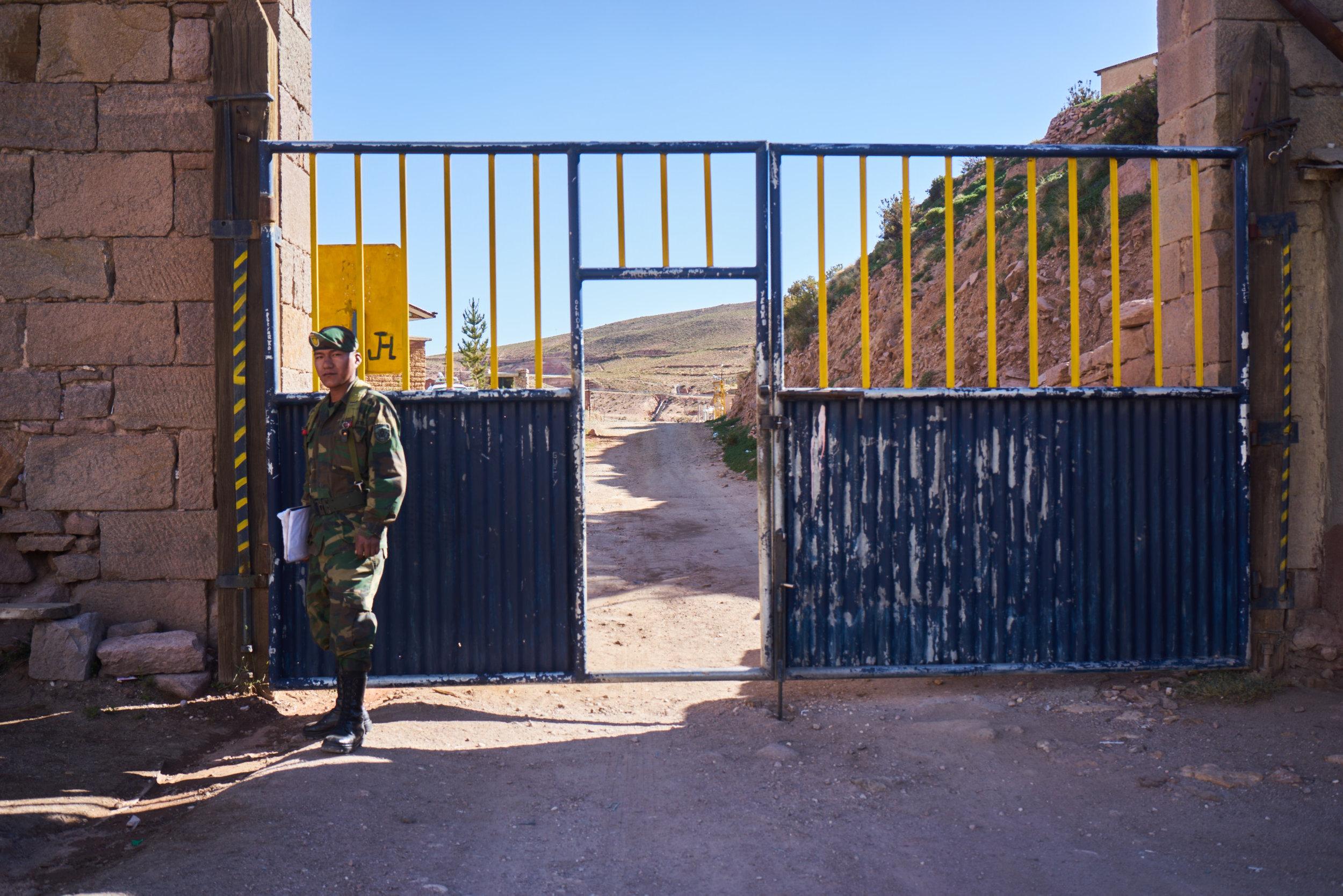 Bolivian Soldier