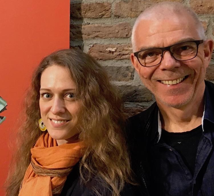 Kari og Astor med StPetersfisk, foto Janne Lepperød-kopi.jpeg