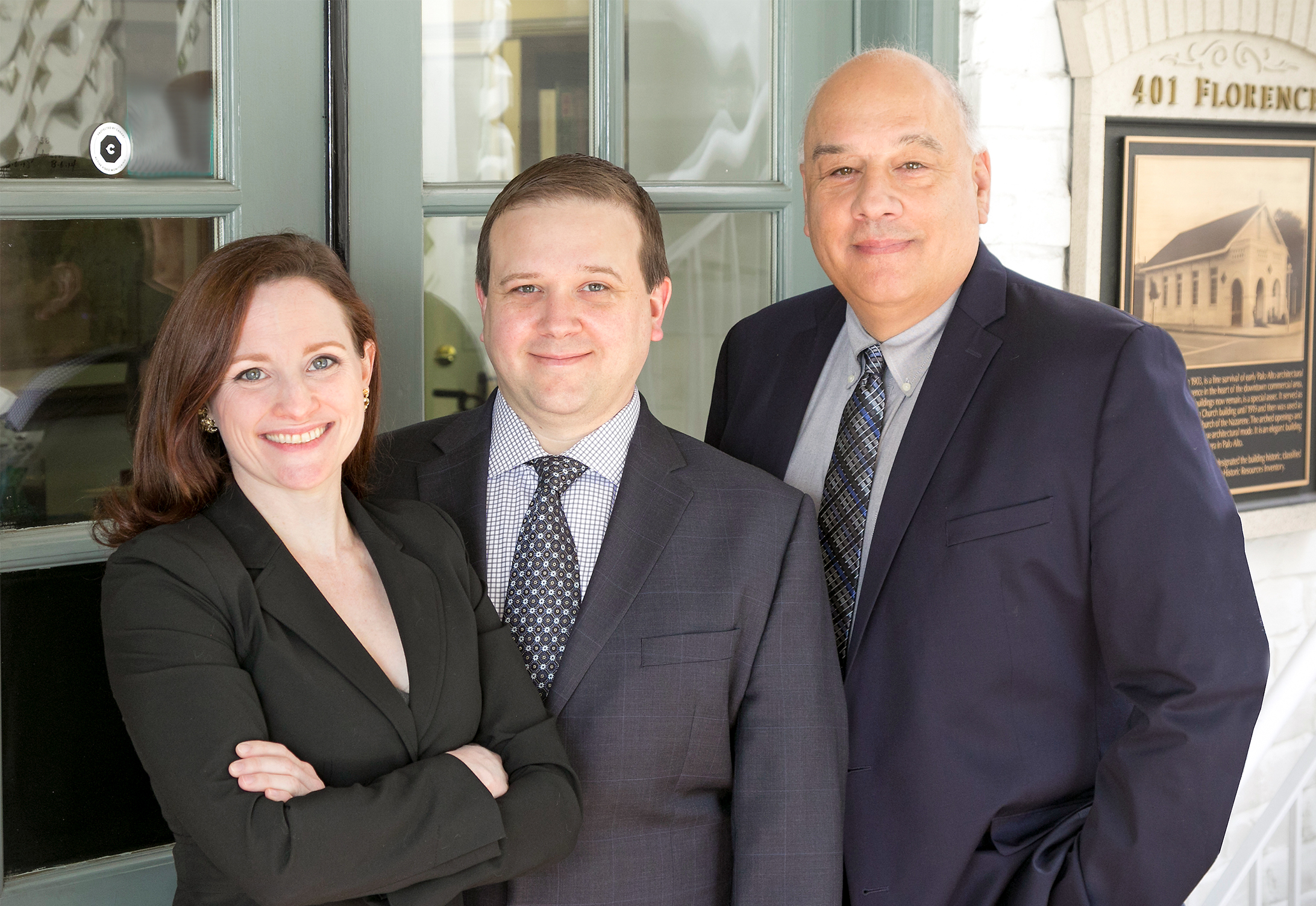 FROM LEFT TO RIGHT:  LUCY GOODNOUGH ,  CHRISTOPHER SARGENT , AND  JACK RUSSO