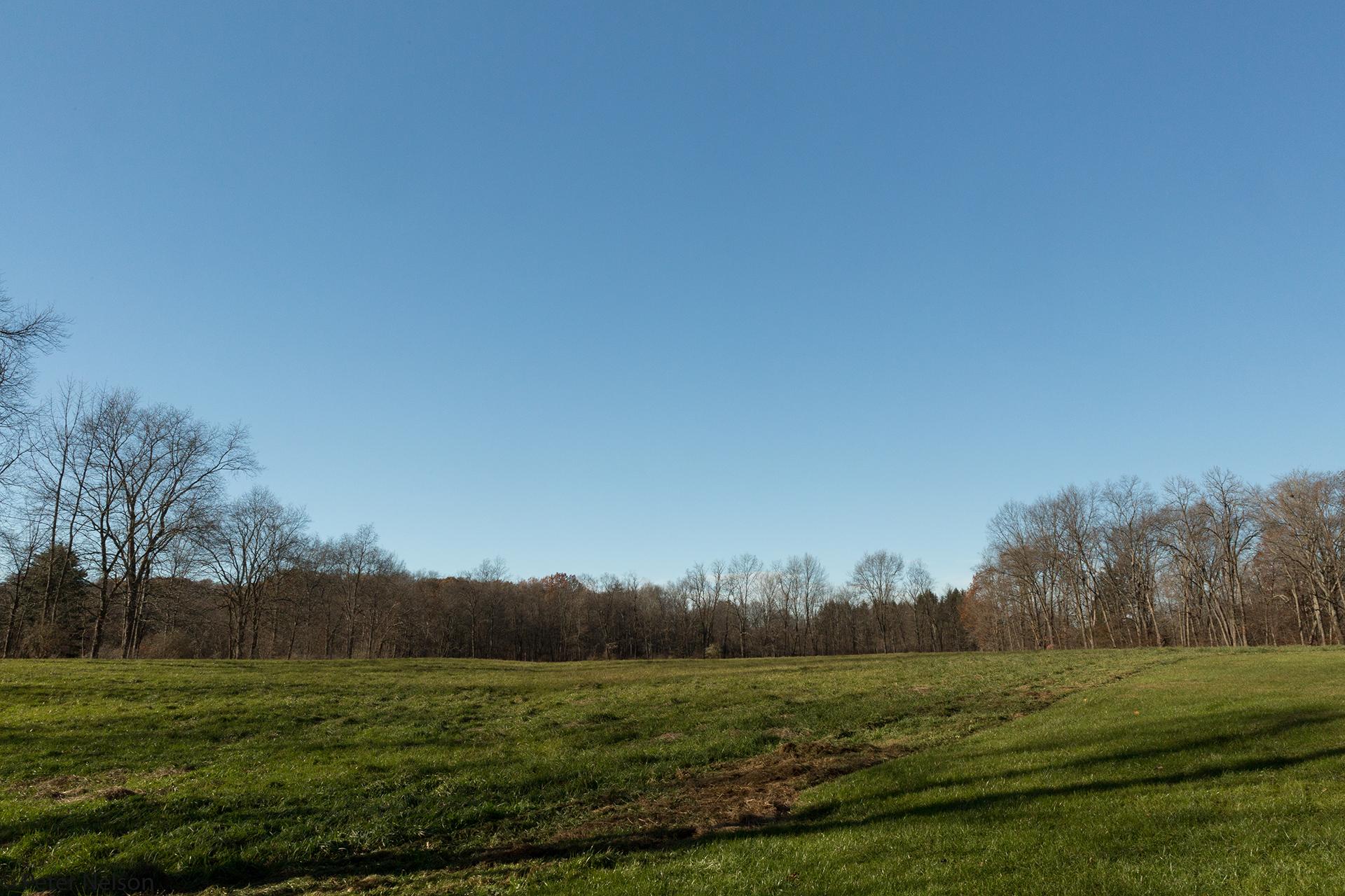 A mown Hay Field