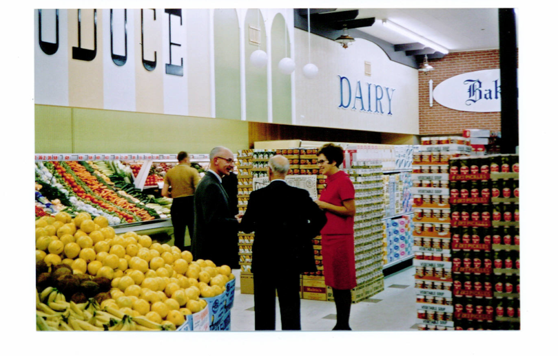 Opening night November 1967, Dorothy Askew on right