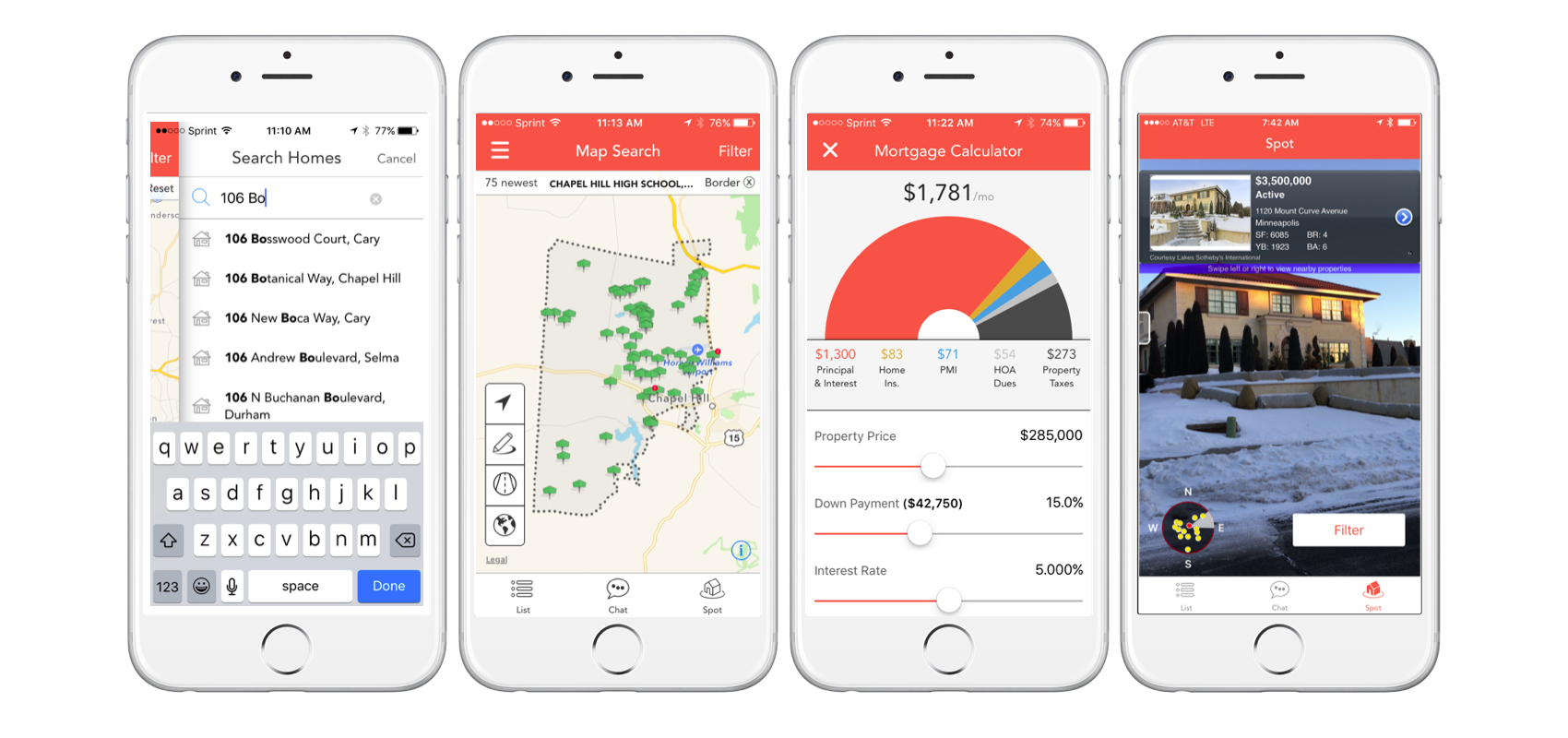 Movement Realty HomeSpotter App