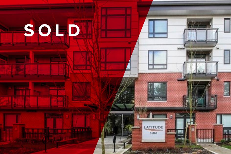 SOLD! 414-14358 60th Avenue, Surrey$468,000 - 3 BED   2 BATH