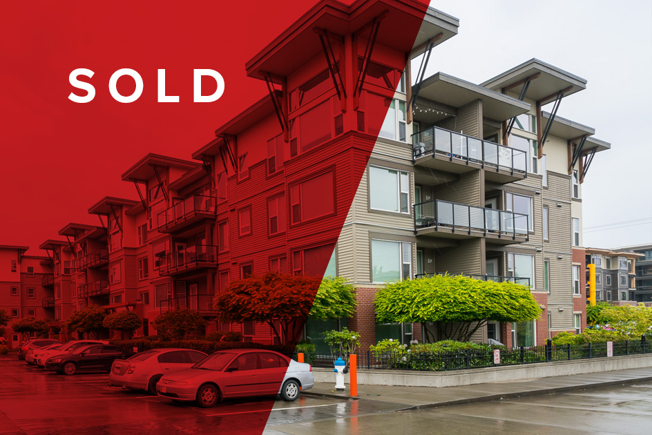 SOLD! 103-33538 Marshall Road, Abbotsford$305,000 - 1 BED   1 BATH