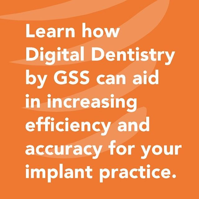 To help our new customers on board we provide a patient consult package, your first surgical guide, and demo meeting all for free. . DM us today to learn how digital dentistry by GSS can aid in increasing efficiency and accuracy for your implant practice. . #digitaldentistrybygss #guidedsurgery #guidedsurgicalsolutions #implantsurgery #implantology #gss #digitaldentistry #3dprinting #implants #virtualsurgicalplanning #dentalimplants