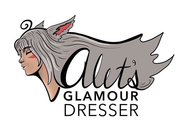 Playing around with something fun: a possible side project. #ffxiv #AletsGlamourDresser #LogoDesign #Miqote