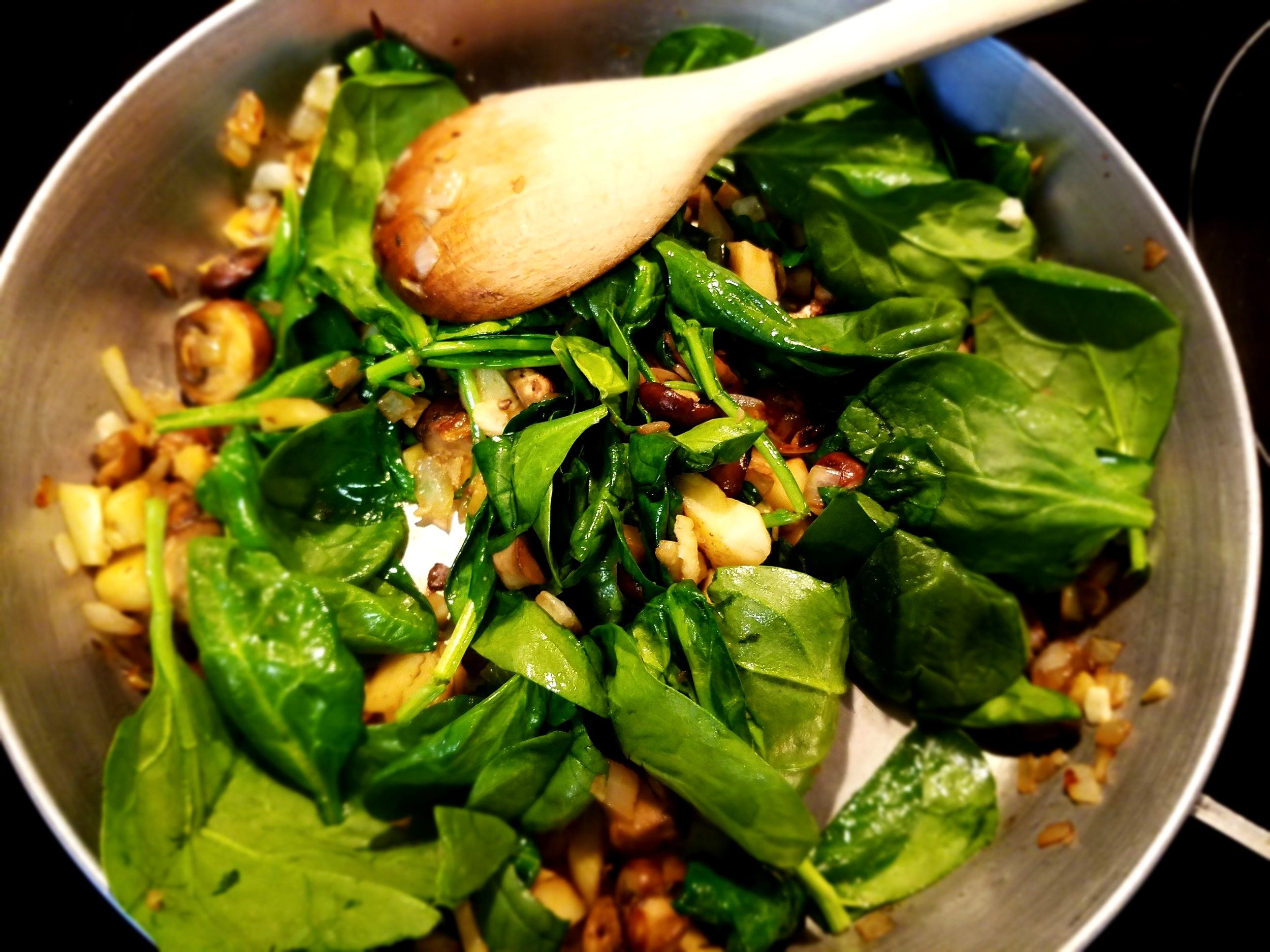Mushroom Artichoke Tofu Quiche