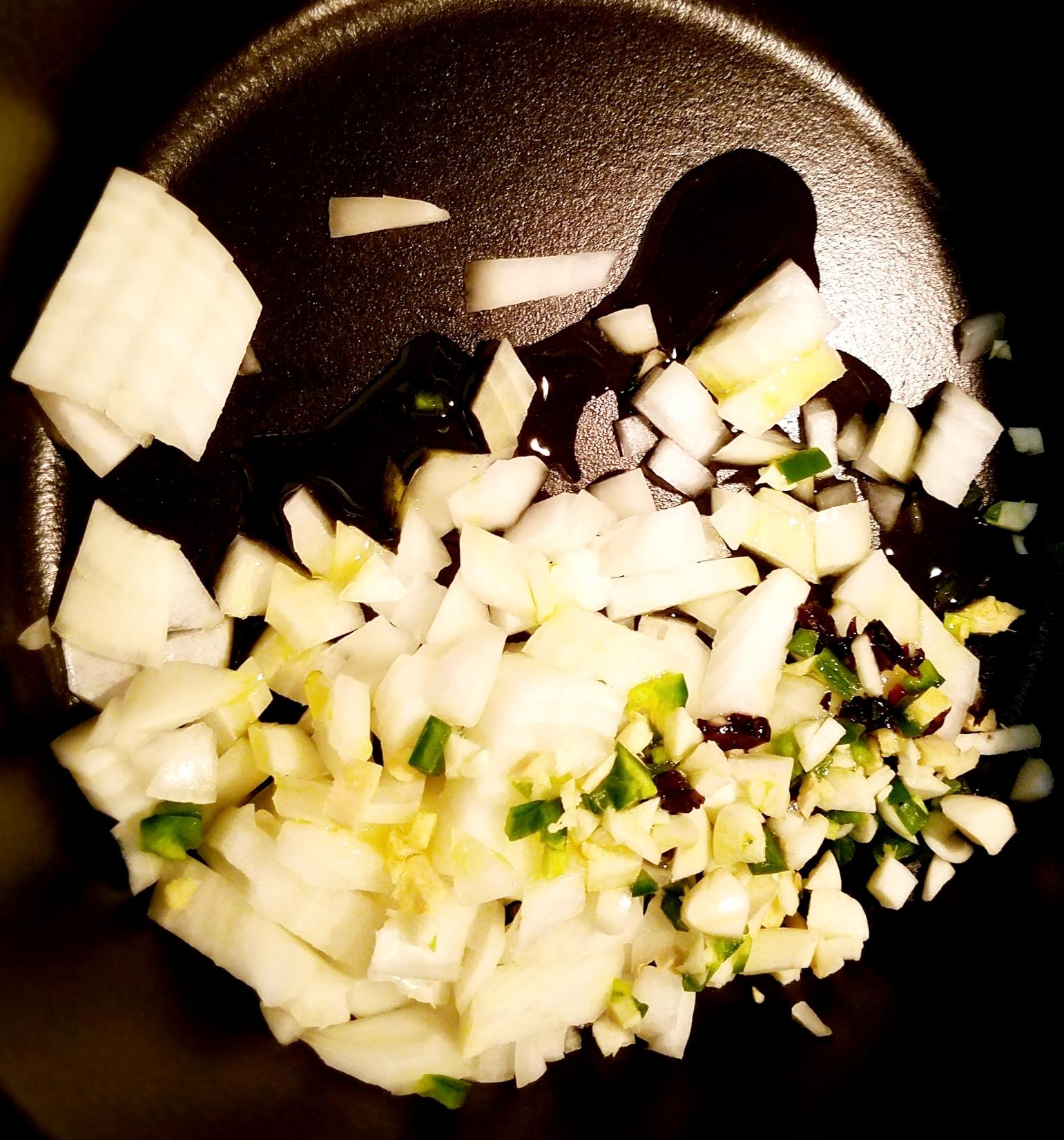 Black-eyed Peas, Greens and Sweet Potato Cornmeal Galette