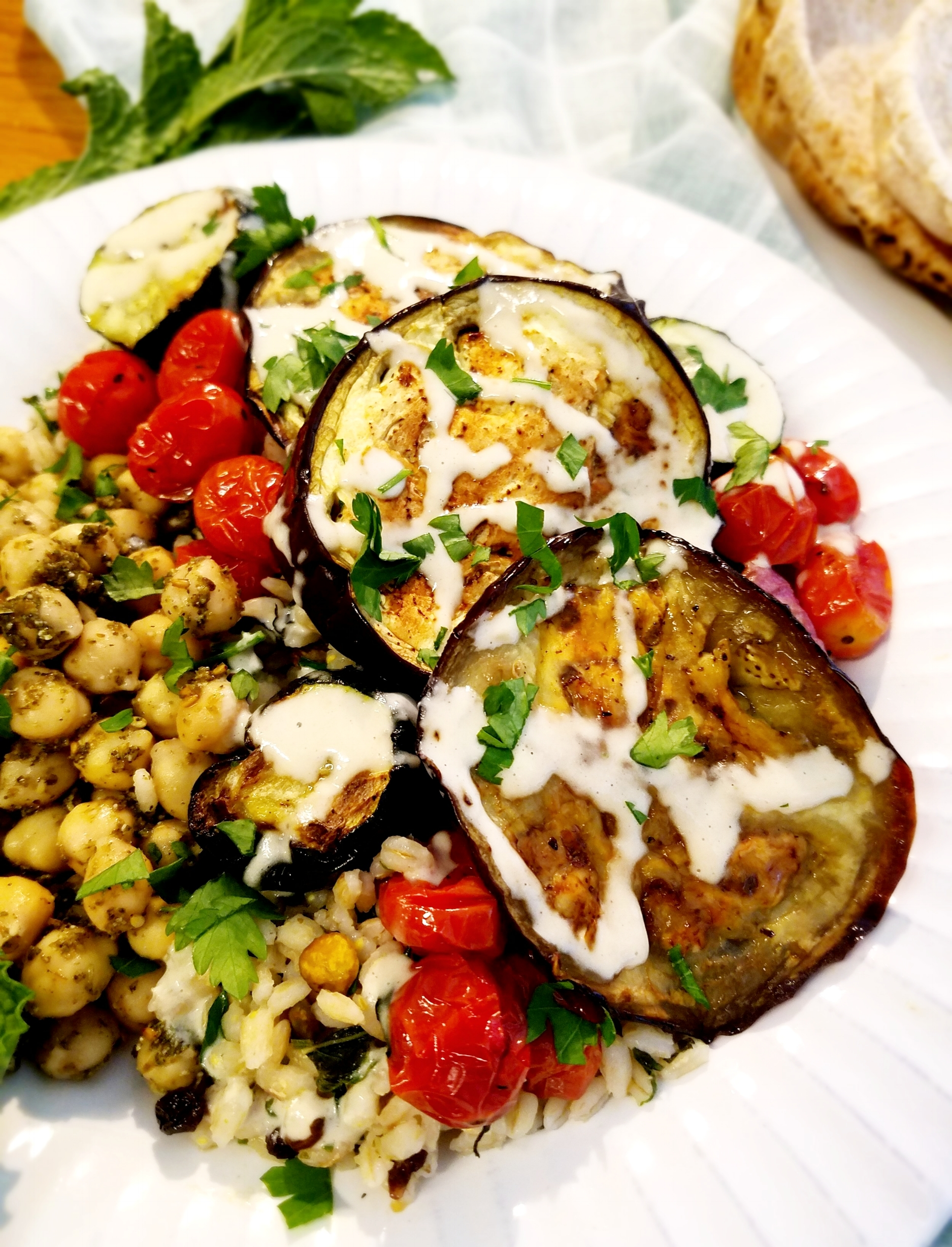 Grilled Vegetables with Za'atar Chickpeas and Mint Pistachio Barley.jpg