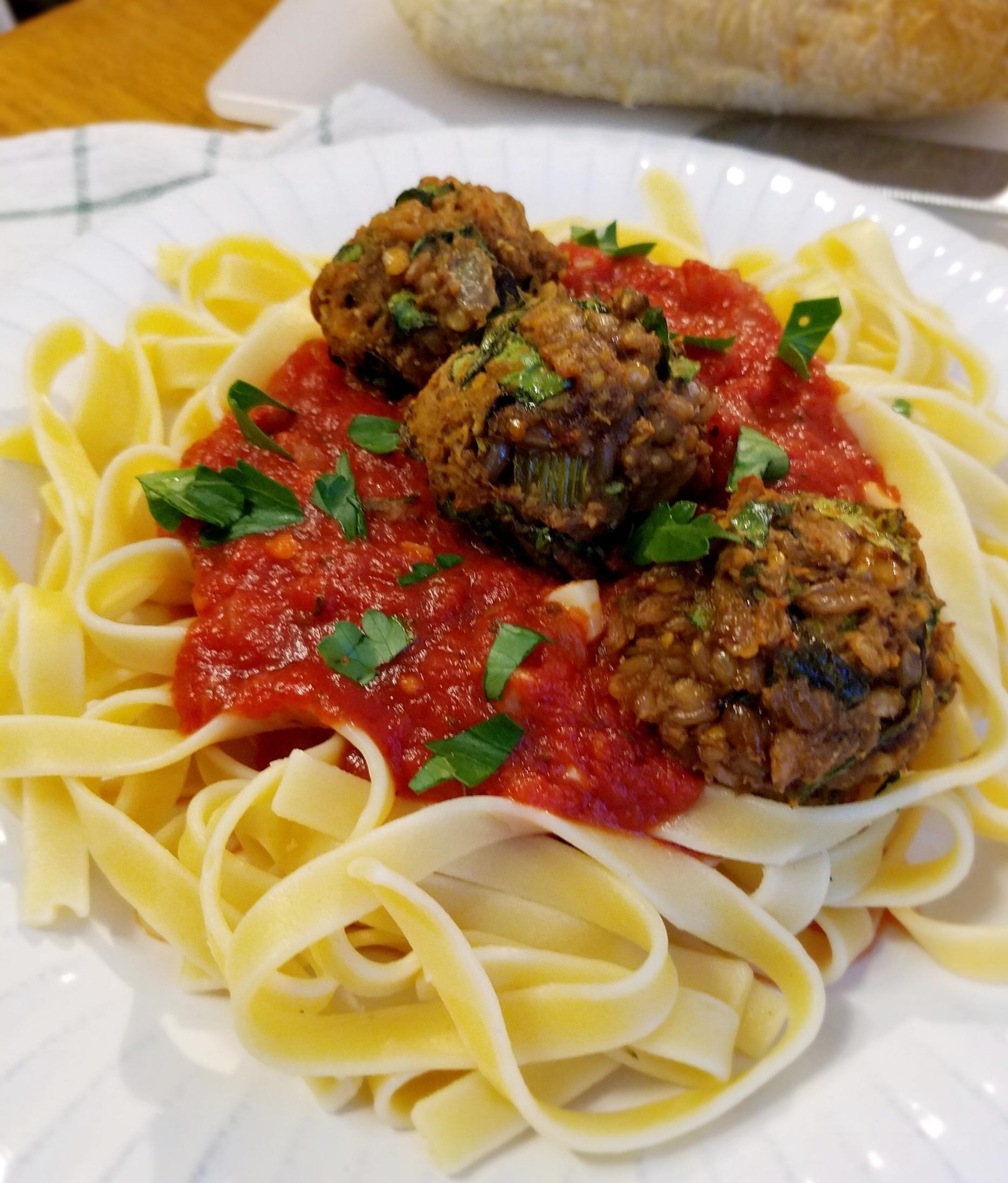 Sun-Dried Tomato Lentil Wheatballs