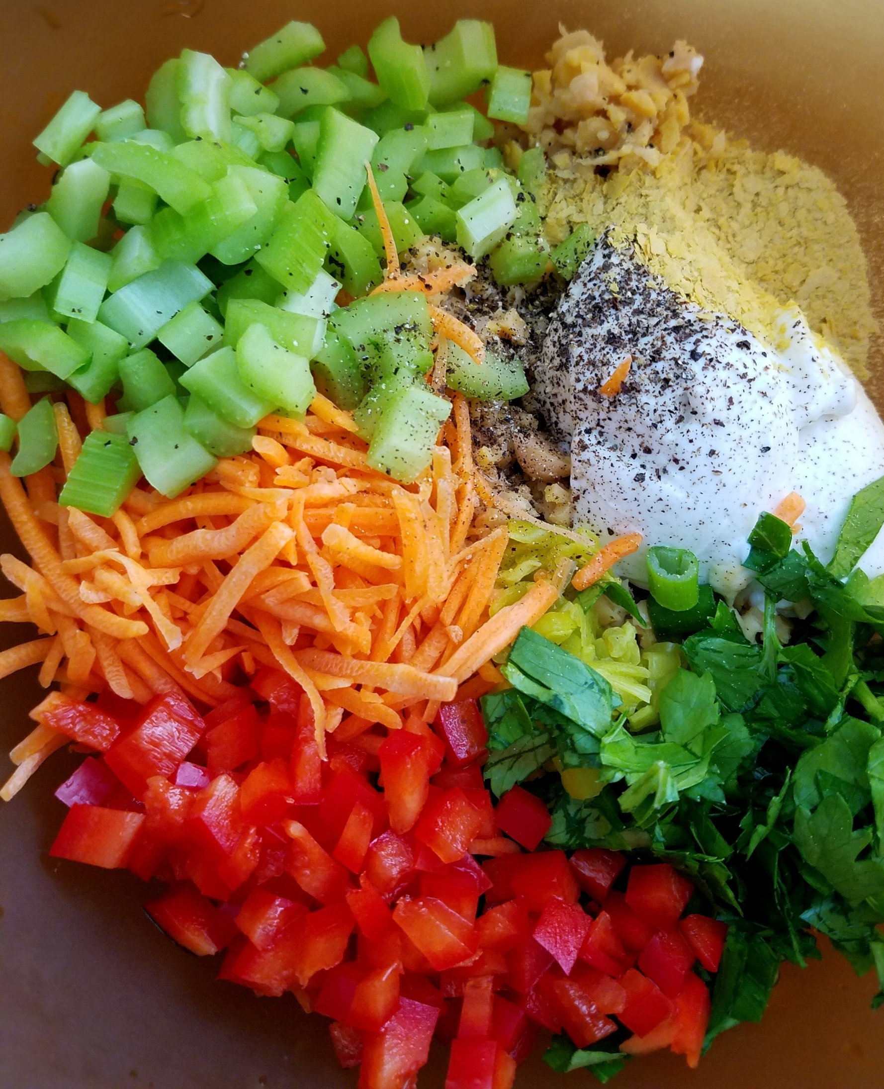 Creamy Chickpea Salad