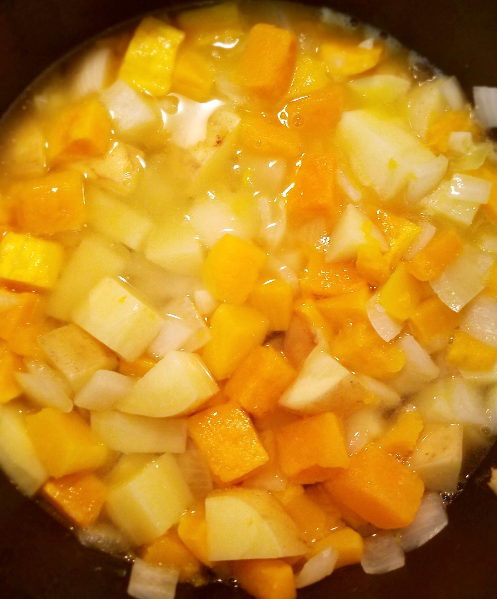 Butternut Squash and Potatoes