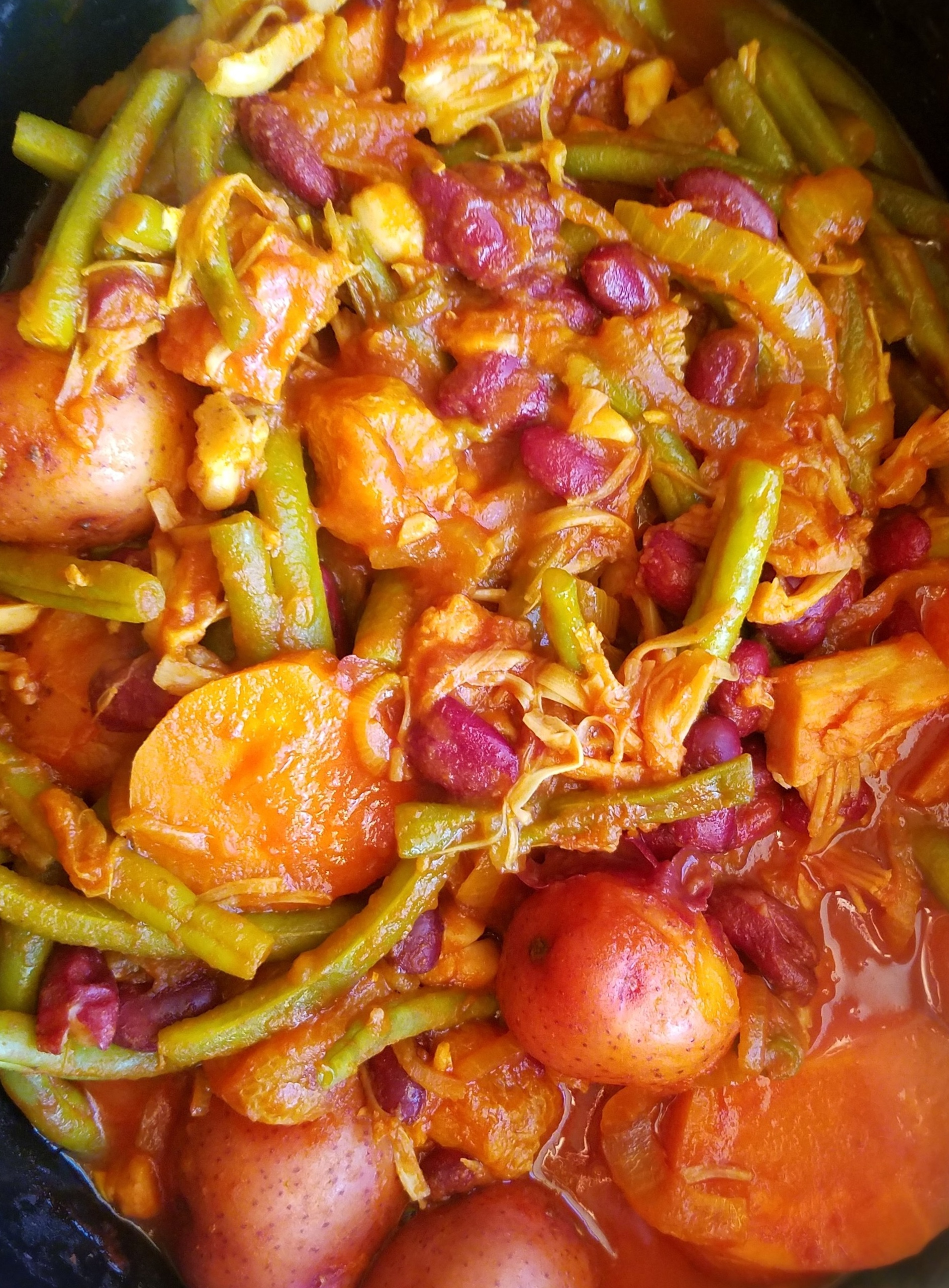 Slow Cooker Persian-Style Green Bean Stew