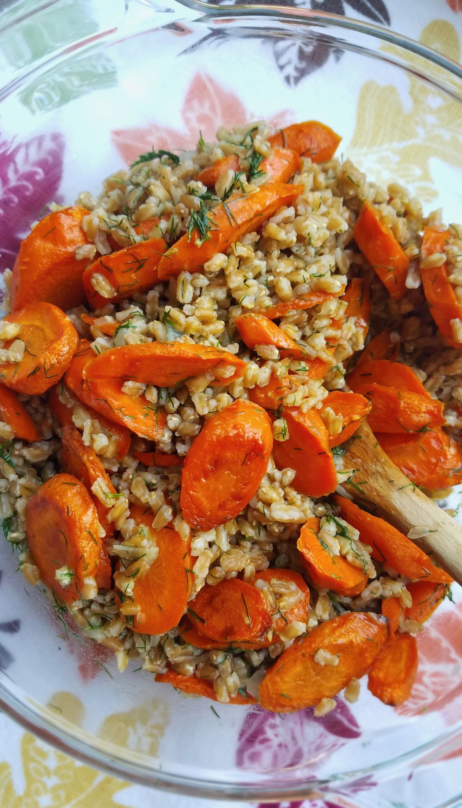 Roasted Carrots and Farro with Citrus, Ginger and Dill.jpg