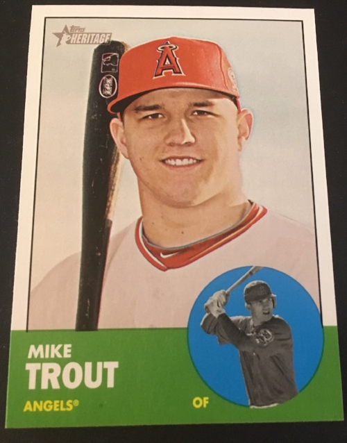 7 Awesome Mike Trout Baseball Cards For Less Than 15