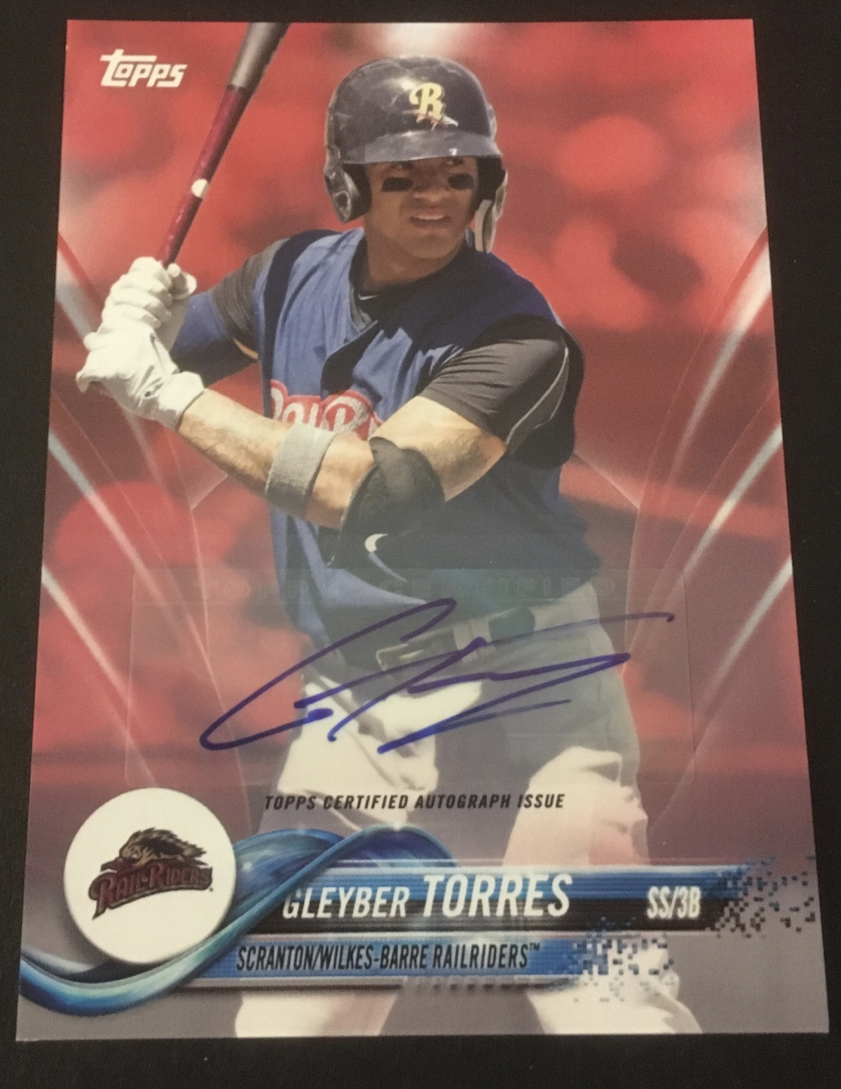Wow! Torres Red Auto /10!!! Score!!!!!