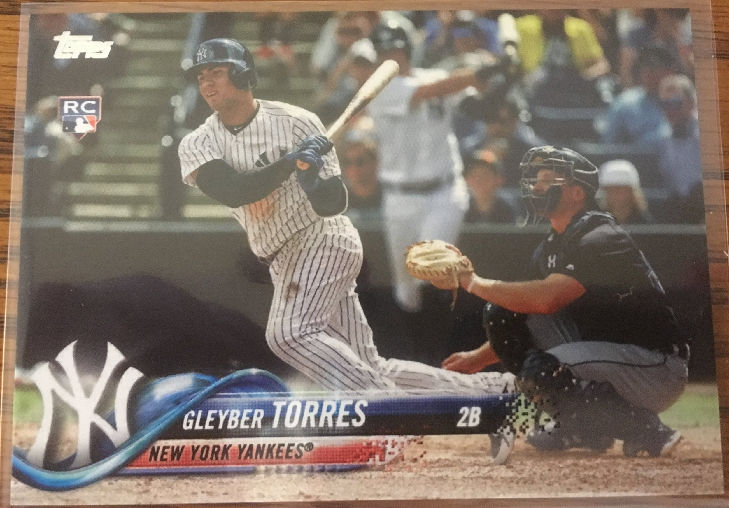 2018 Topps Series 2 Gleyber Torres RC SP #699