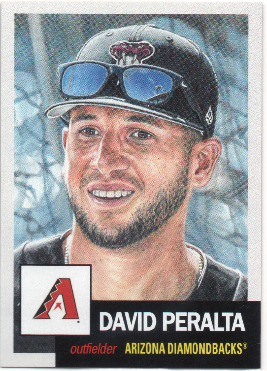 121. David Peralta (3,353) -