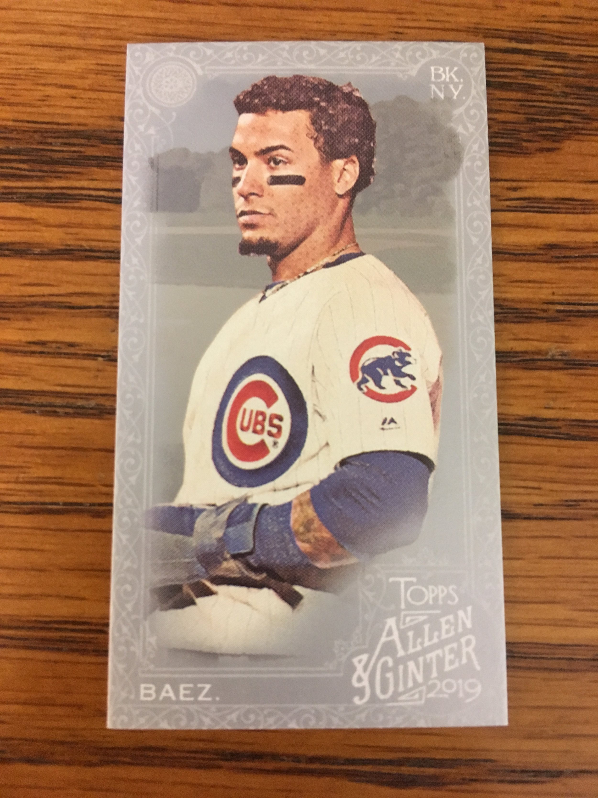 This Javy Baez 1/1 was one of my pulls!