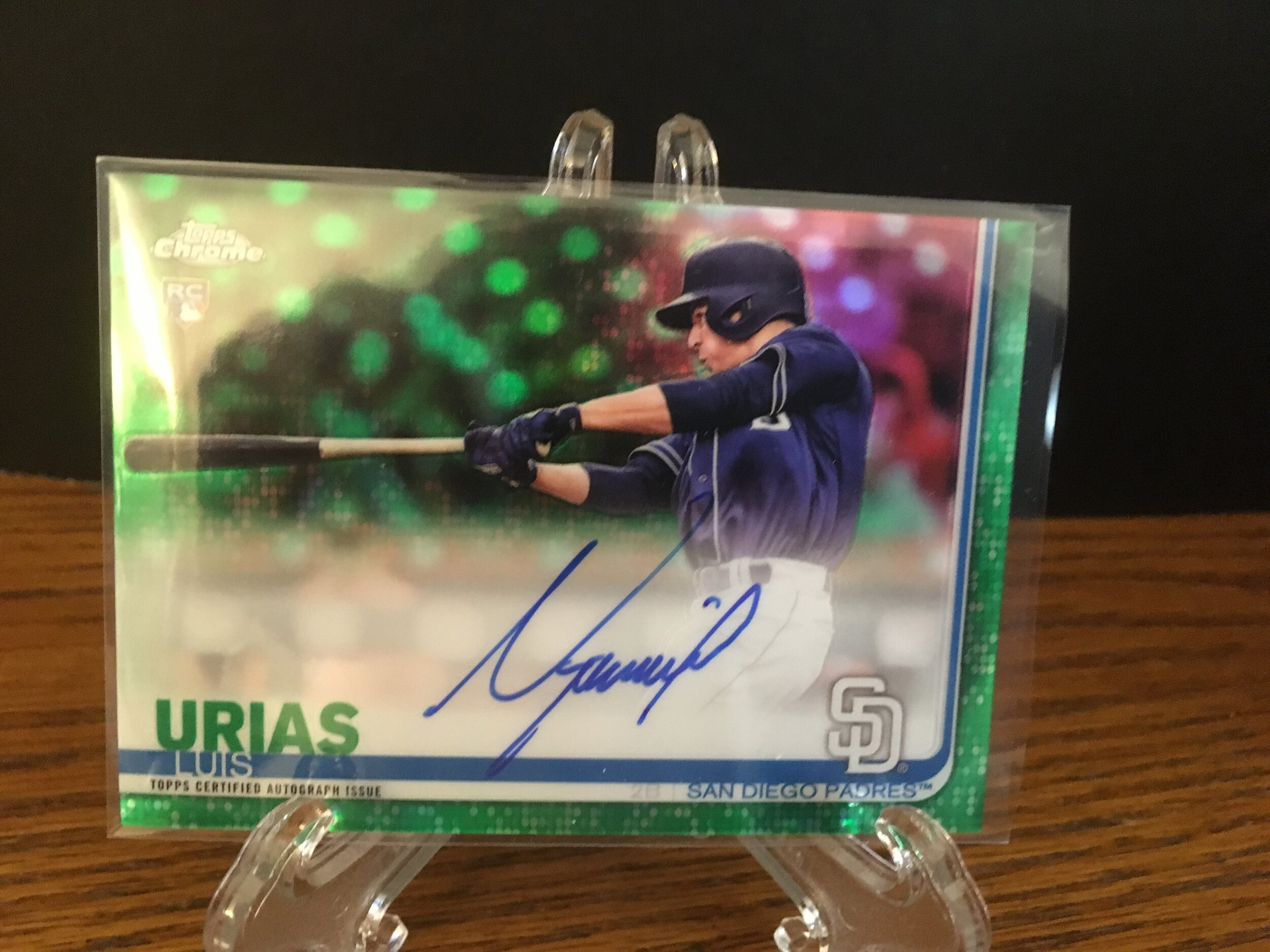 This Luis Urias auto was an awesome find!