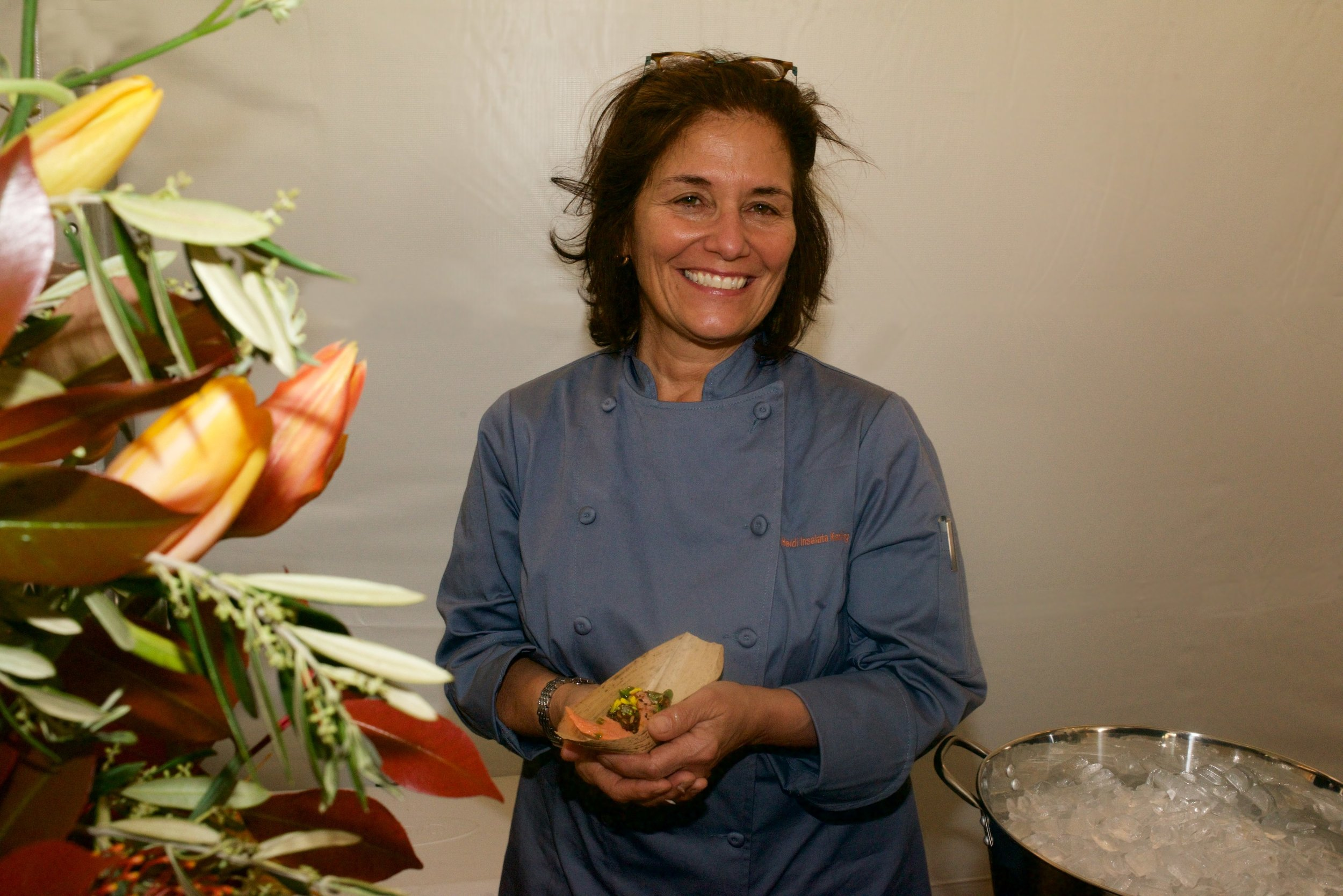 Culinary Host, Heidi Krahling-    Heidi has been the guiding force for this event since its conception in 1998.