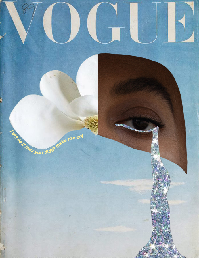 «I will lie if I say you didn't make me cry» - OCTOBER 1945 Vogue places paining of a blue sky on its cover - which denotes the end of blitz over London - and in this case symbolises final clearness of my mind. #voguecoverMagnolia is very tough, and has to adapt in order to survive, it stands for purity and perfection, and strength of its bloom is symbol of self-respect. Beauty of this flower in every meaning is on another level for me. #magnoliaThe eye, that looks deep inside of your soul. Inspiring you to create and do beautiful things. #solangeknowlesBut at the end there's #nomoretears to cry as life goes on and every day is better than previous one. #newday