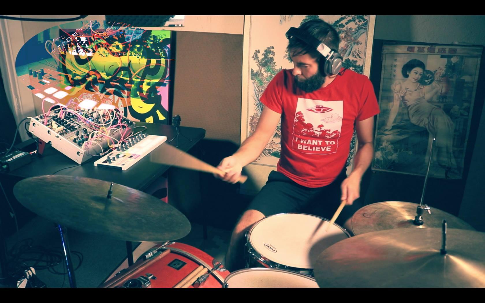 - Drumming