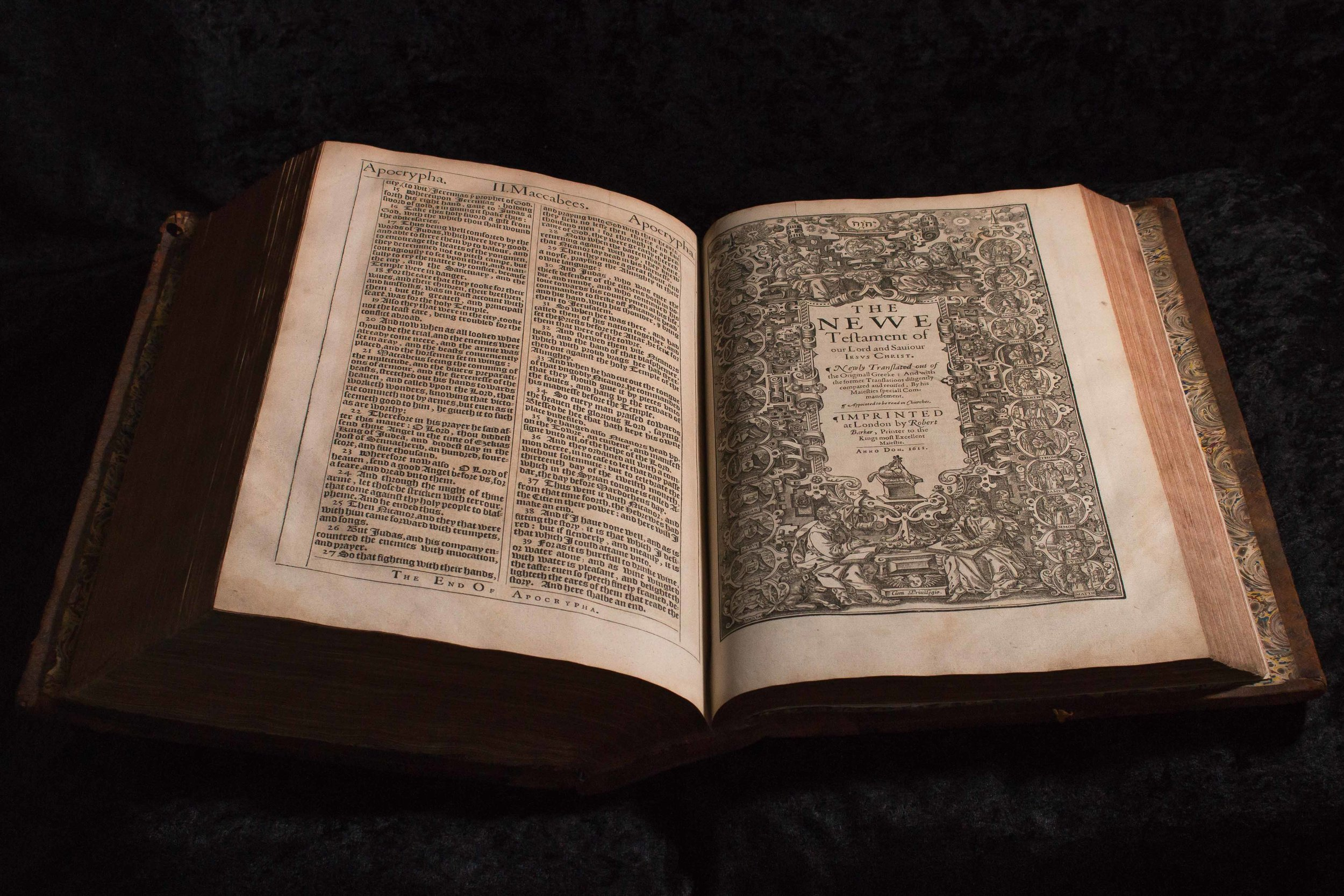 1611 First Edition King James Bible
