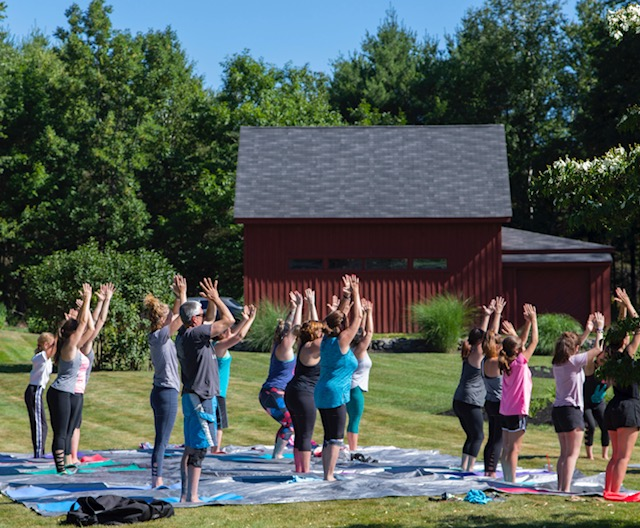 Yoga at Bell Farm Shops