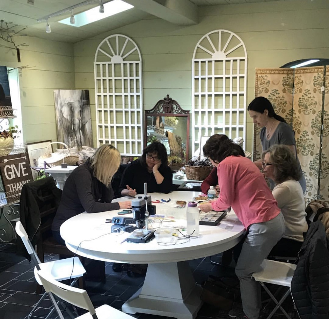 Jewelry Class at Bell Farm Shops