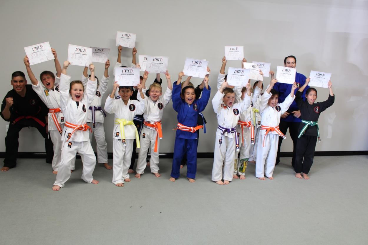 level 3 martial arts performance karate kids self defense bully protection moorpark camarillo thousand oaks