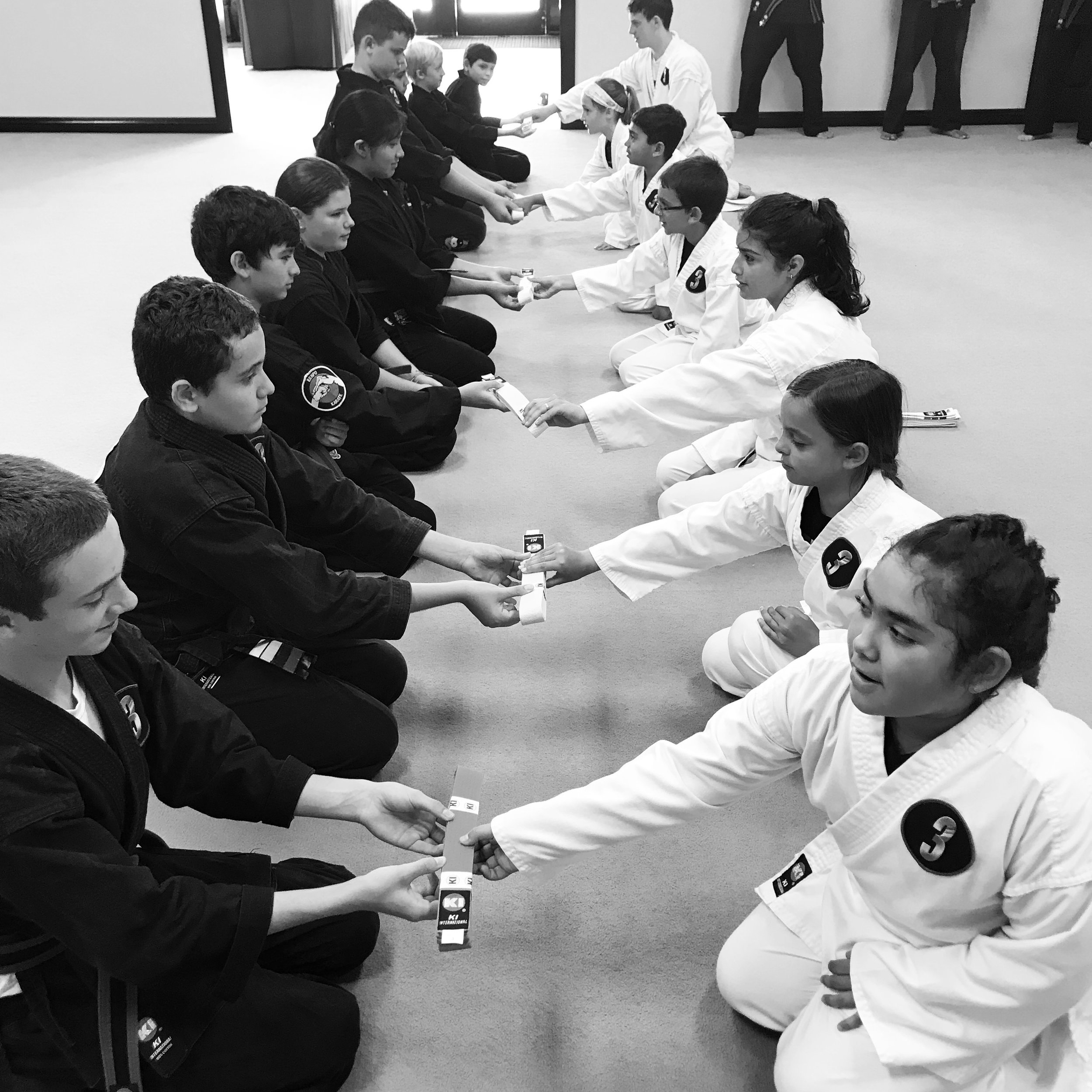 It's not just our instructors that shape your child's experience and character. It's the entire   LEVEL 3   Martial Arts Performance family.