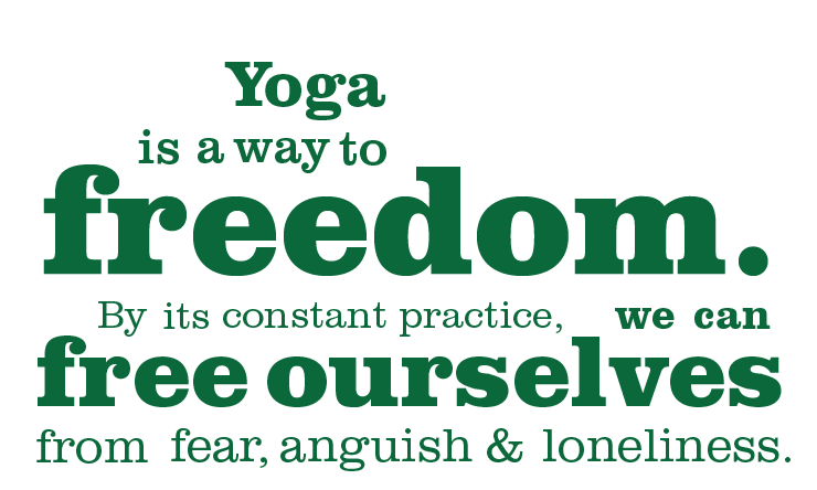 FREEDOM YOGA - Your own practice, at your own pace, in a supervised environment. Starts Tue 1st / Thu 3rd May, 6.15-8.00am, for nine weeks$225 once a week / $414 twice a weekWith Fabio