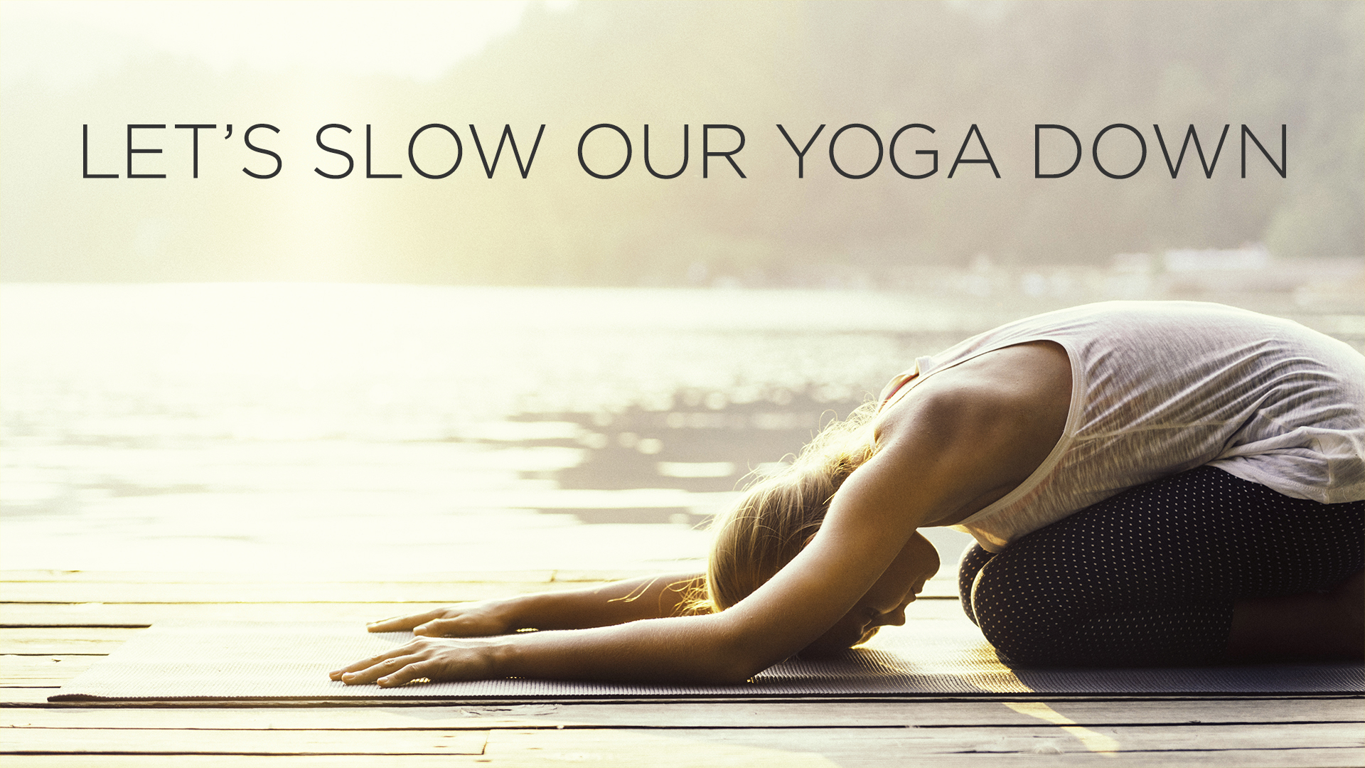 SLOW FLOW MASTERCLASS - If you often find that life moves too fast, maybe it's time to slow it all down. Join Fabio for a delicious Slow Flow, plus John Coleman on the handpans! Perfect for anyone feeling overwhelmed or stressed out by the challenges of day-to-day life.Friday 1st June, 6-8pm, $35, with Fabio