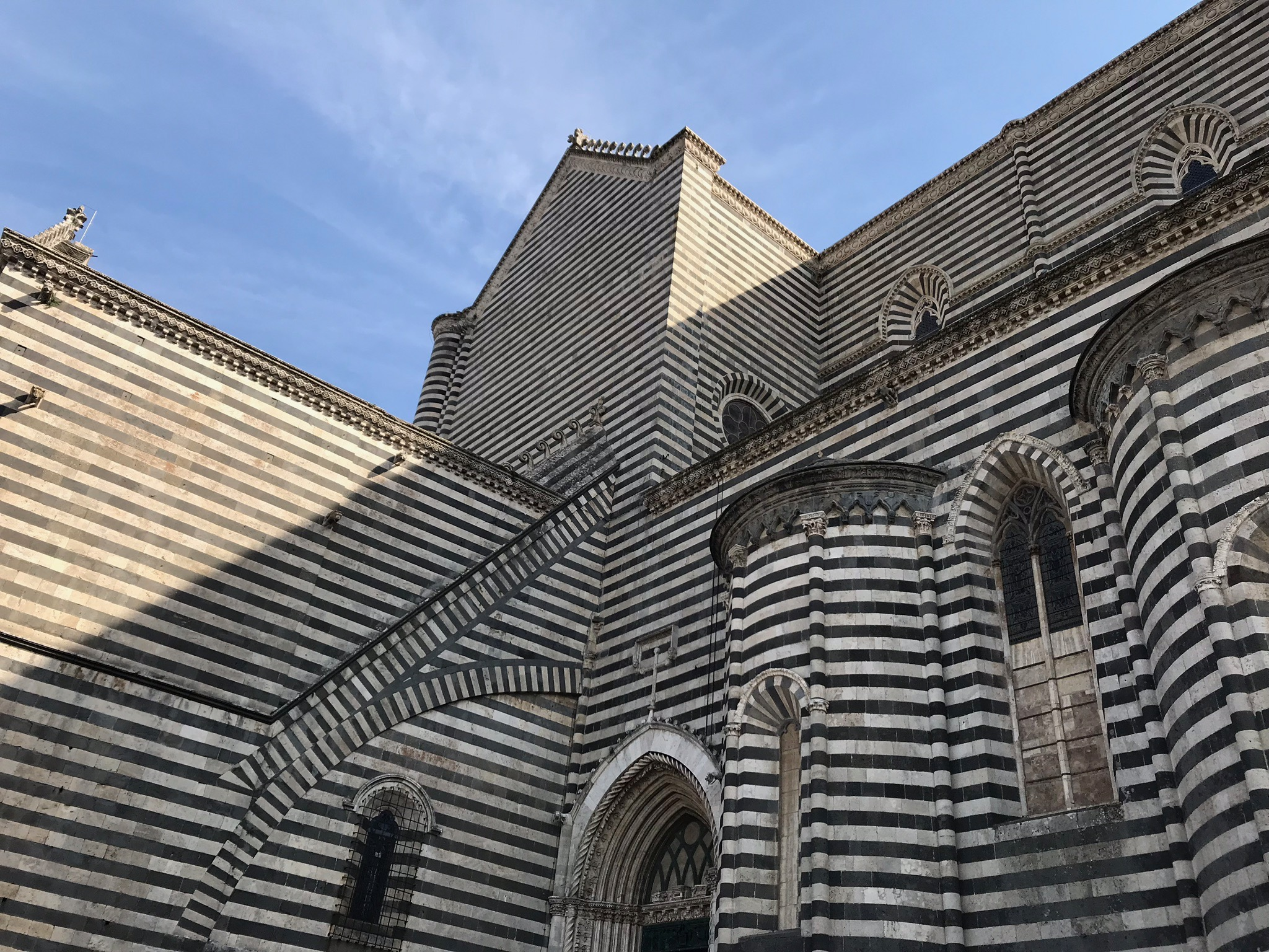 Pattern on the Orvieto Cathedral