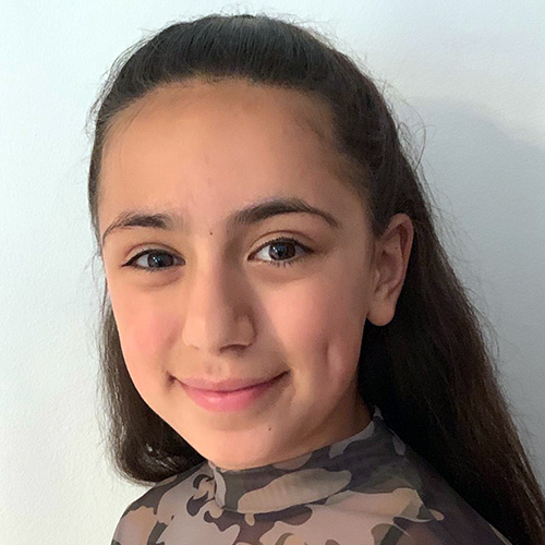 Tara Sharifi , 11 years old  Maths and technology lover. Bronze & Silver award winner of The Duke of York Inspiring Digital Enterprise. Swimmer, Dancer and Guitarist. Year 7 Student at Aylesbury High School. Scored highest possible mark of 162 at Mensa UK IQ test.  Fun Facts: Came 5th in the UK in rock & roll dance at the age of 7.