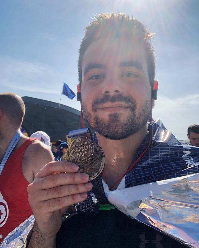 Officially a half marathon finisher !