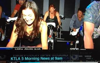 """KTLA 5 Morning News"" Showcasing Vie2Cycle"