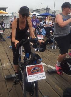 """Pedal on the Pier"" Fundraiser on Santa Monica Pier"