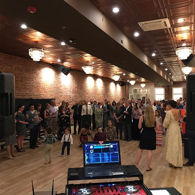 When life gives you rain, dance in it!! Nothing could stop @jose4lord and @kelbelzaz from having an amazing wedding! A great group of family and .... well .... they're all family!! #wedding #love #danceintherain #dj #prescott @grandhighlandhotel