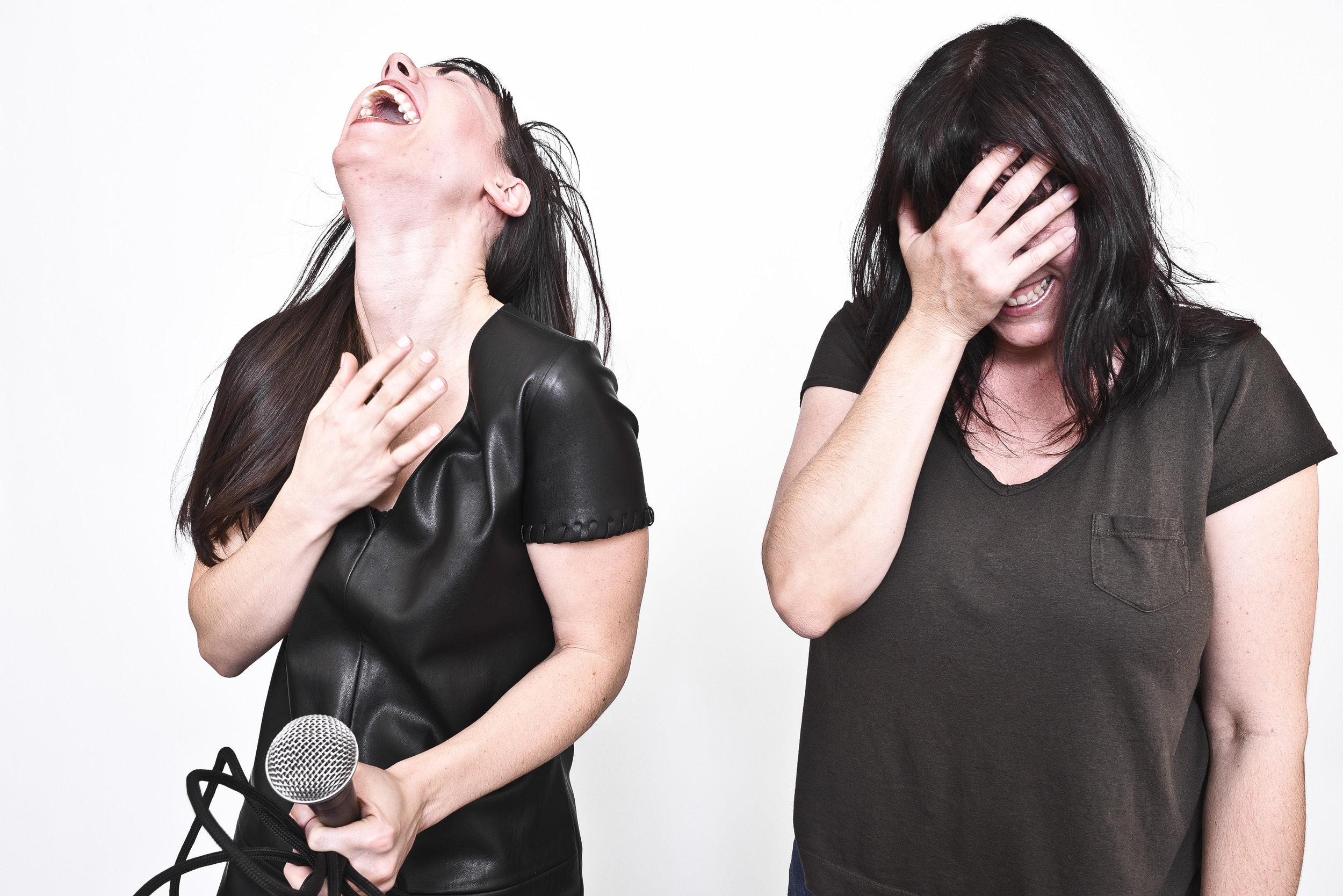 Bi TYRANT - drummer Laura Cromwell & Brittany Larcenie cover.jpg
