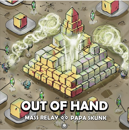 Cover Art From New Mass Relay & Pap Skunk EP - MHSM Records
