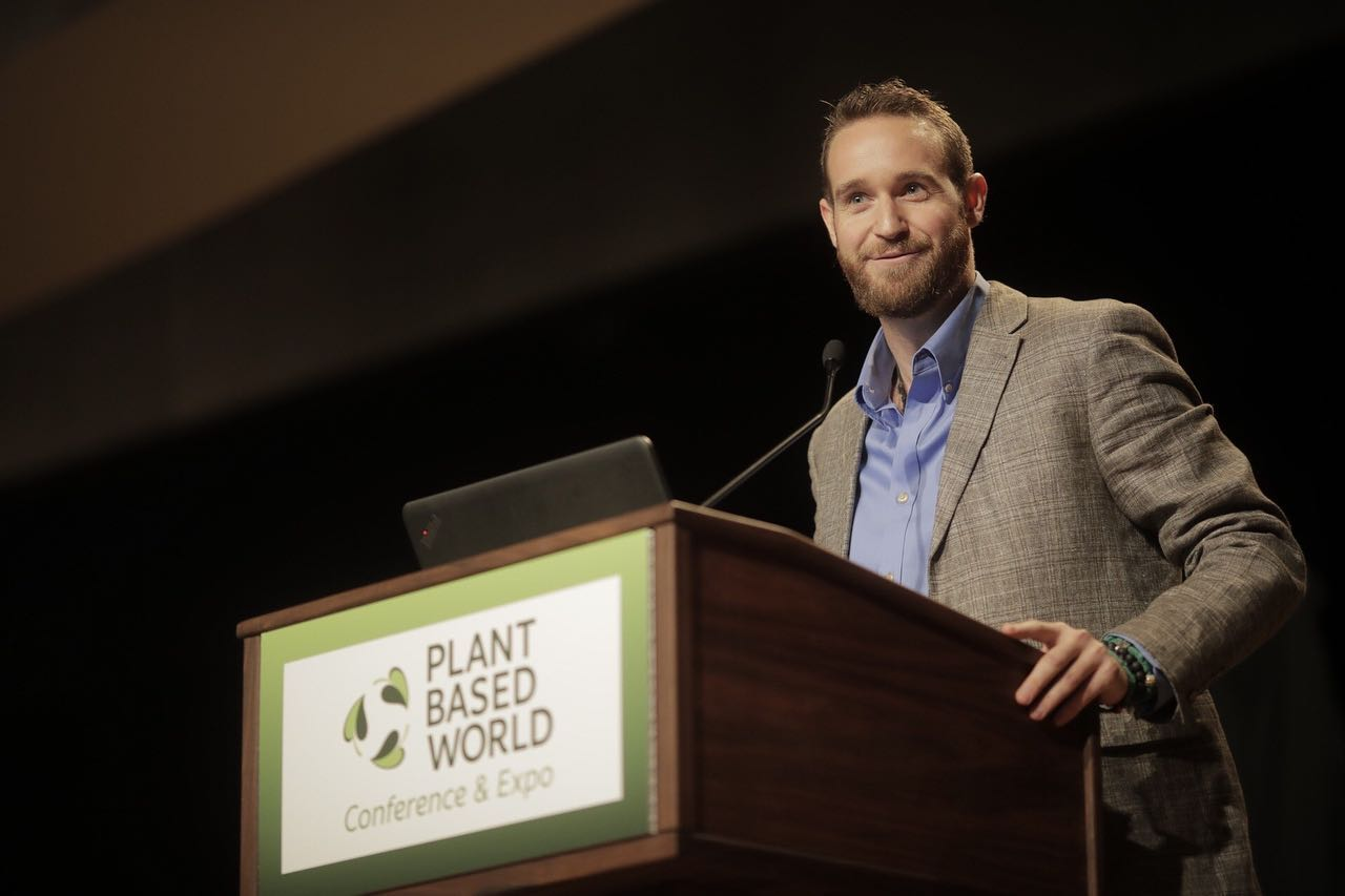 Ben Davis AKA Vibe Street at The Plant Based World Conference & Expo