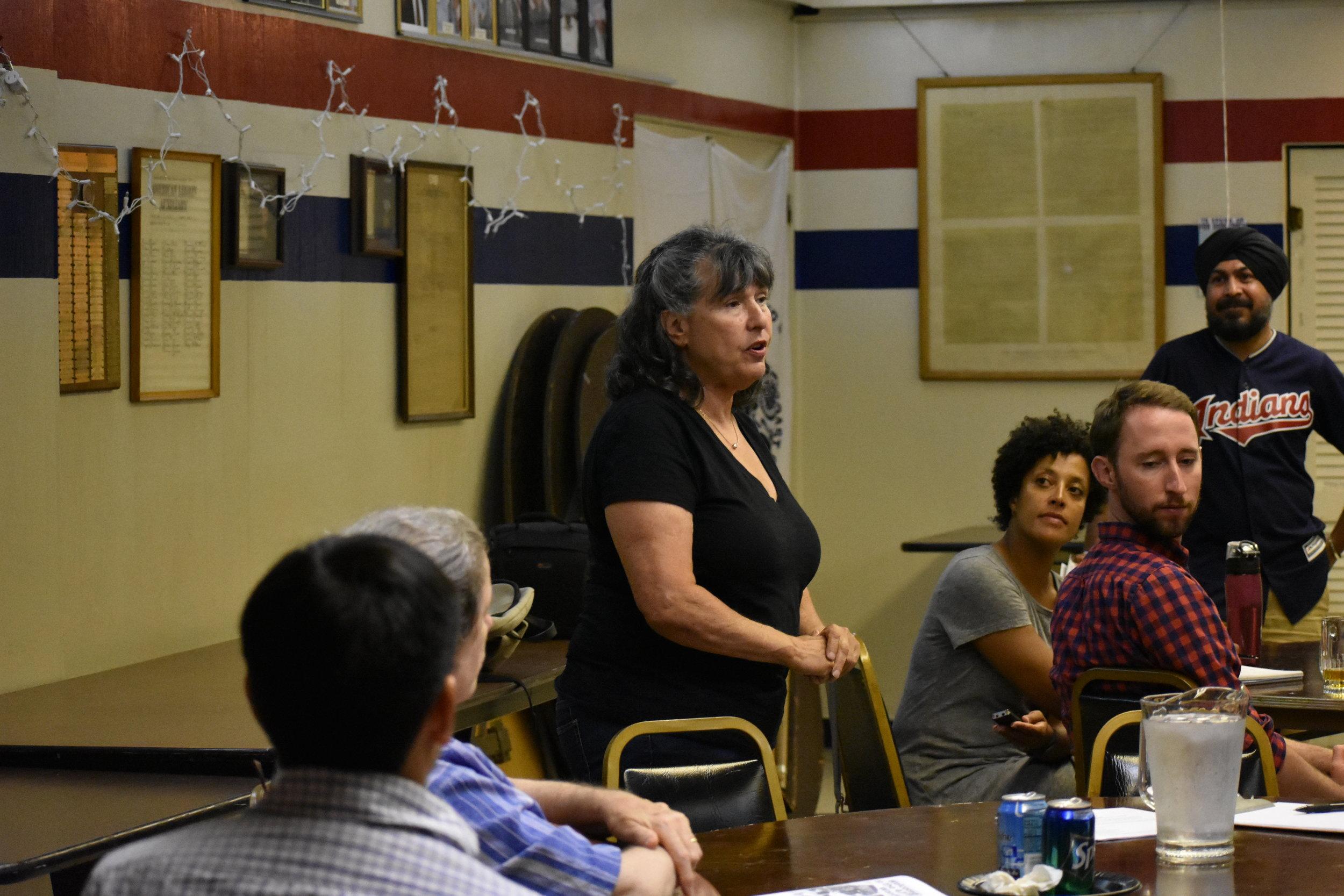 Dära Salk, Community Outreach Director for the 47th Ward