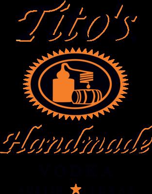 Tito's Vodka - Platinum Sponsor logo.png