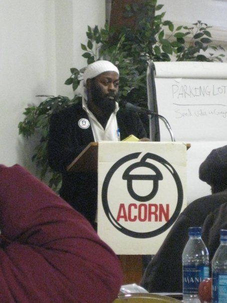Me, at an ACORN meeting in Washington, D.C. (ca. 2008-2009)