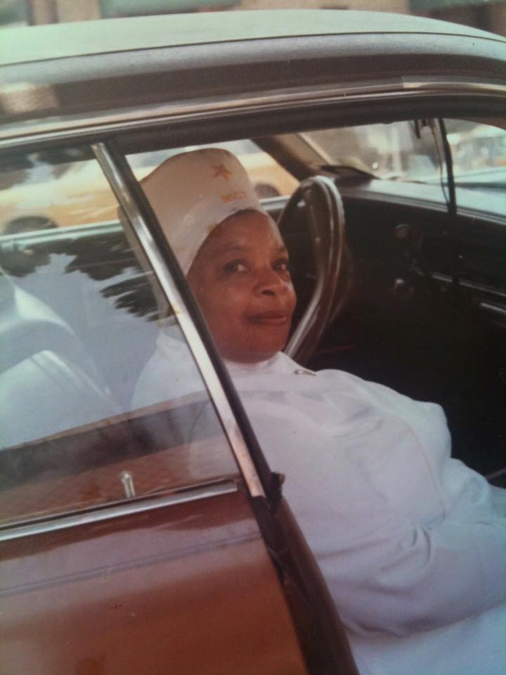 Grandma Iris (may Allah be pleased with her), when she was a member of the Nation of Islam