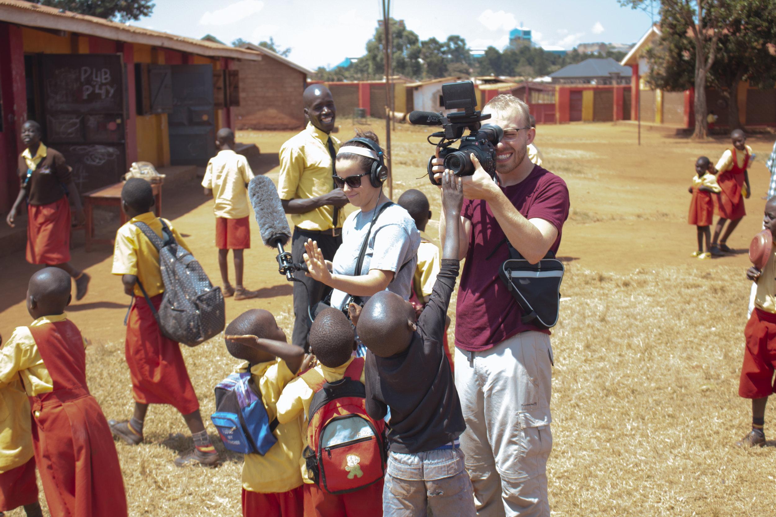 Heidi & Jesse in Uganda - July 2018